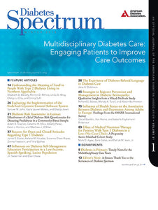 Diabetes Spectrum, Volume 31, Issue 1, Winter 2018