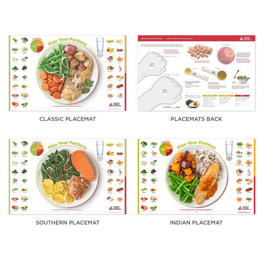 SET: The Diabetes Placemat Sample Pack