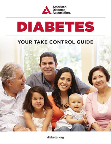 Diabetes: Your Take Control Guide (25/Pkg)