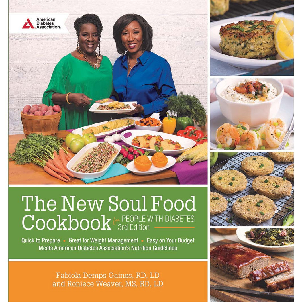 The New Soul Food Cookbook for People With Diabetes, 3rd Edition