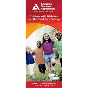 Children with Diabetes and the Child Care Setting Brochure (25/Pkg)