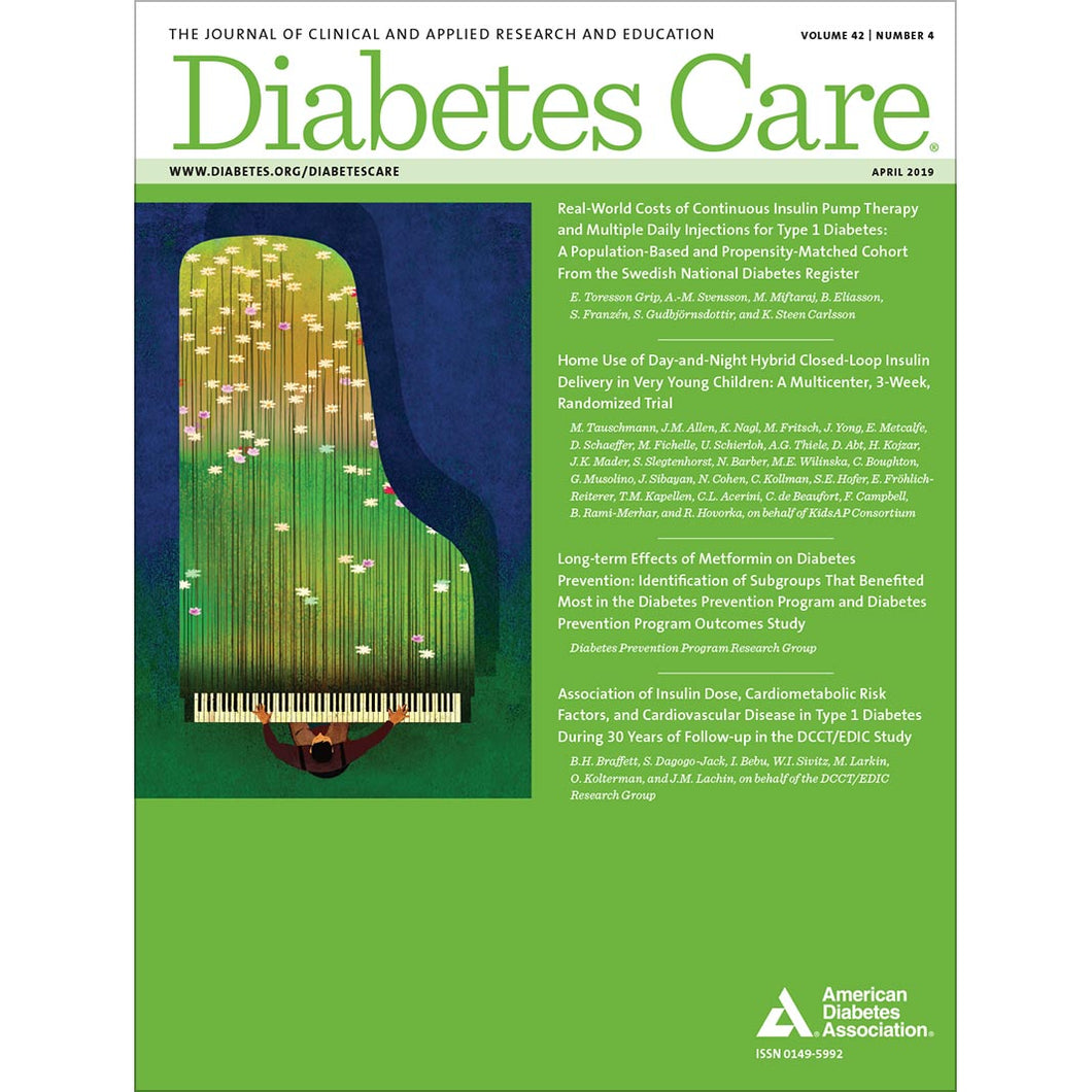 Diabetes Care, Volume 42, Issue 4, April 2019