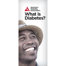 Load image into Gallery viewer, What is Diabetes? Brochure (Bilingual) (50/Pkg)