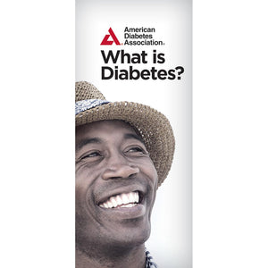 What is Diabetes? Brochure (Bilingual) (50/Pkg)