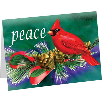 Peace Cardinal Cards (20/Box)