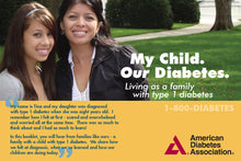Load image into Gallery viewer, My Child. Our Diabetes. Living As a Family with Type 1 Diabetes (10/Pkg)