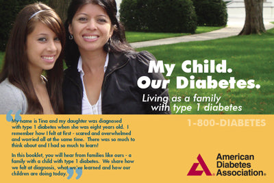 My Child. Our Diabetes. Living As a Family with Type 1 Diabetes (10/Pkg)