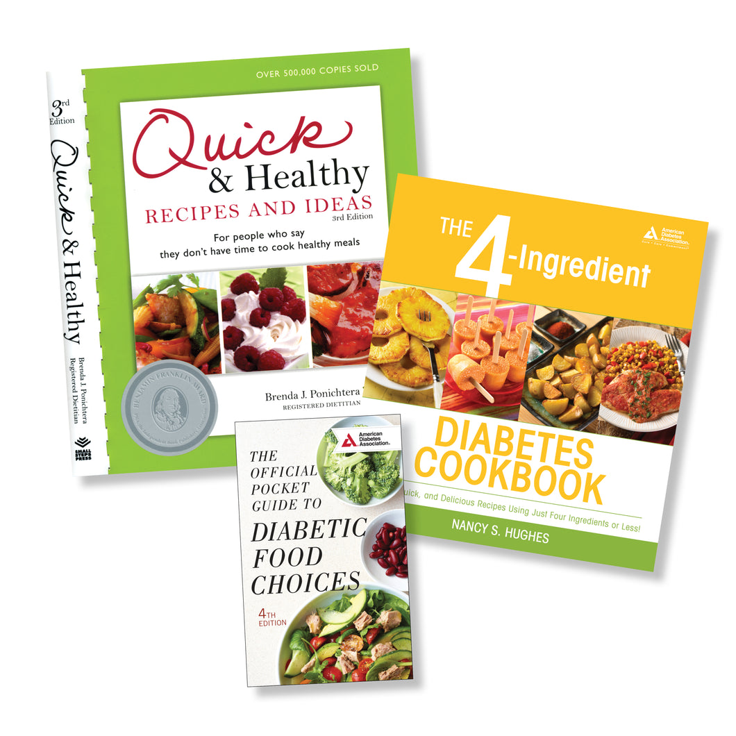 SET: Diabetic Cooking Essentials - Quick & Easy
