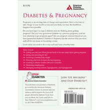 Load image into Gallery viewer, Diabetes & Pregnancy: A Guide to a Healthy Pregnancy