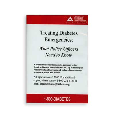 Treating Diabetes Emergencies: What Police Officers Need to Know (DVD)
