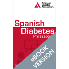 Load image into Gallery viewer, Spanish Diabetes Phrasebook