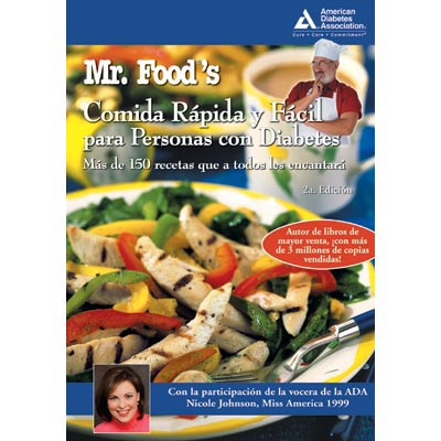 Mr. Food's Quick & Easy Diabetic Cooking (Spanish), 2nd Edition (Comida Rapida y