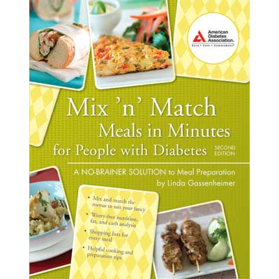 Mix 'n' Match Meals in Minutes for People with Diabetes, 2nd Edition