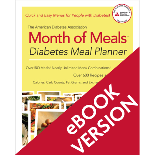 The American Diabetes Association Month of Meals Diabetes Meal Planner (ePub)