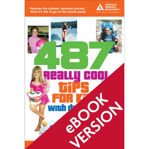 487 Really Cool Tips for Kids with Diabetes (ePub)