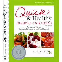 Load image into Gallery viewer, Quick & Healthy Recipes and Ideas, 3rd Edition