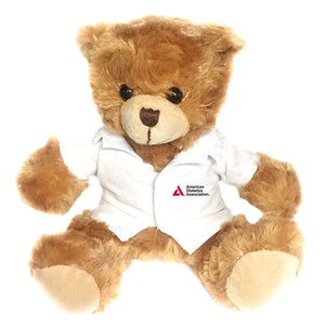 American Diabetes Association Plush Bear with Lab Coat