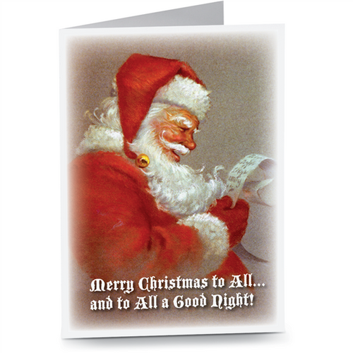 Santa's List Cards (20/Box)