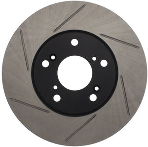 StopTech Slotted Front Rotors - Civic (Non Si, Non Type R)
