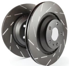 EBC Slotted Front Rotors - Civic Type R
