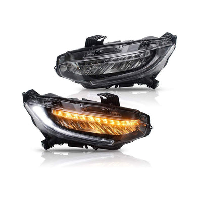 Touring-style Sequential LED Headlights - Civic (LX, EX, Sport, Si)