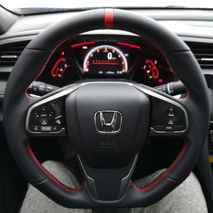 Flat-Bottom Steering Wheel - 2016+ Honda Civic
