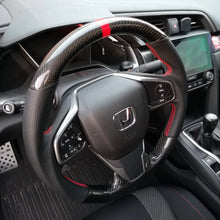 Load image into Gallery viewer, Flat-Bottom Steering Wheel - All Civic