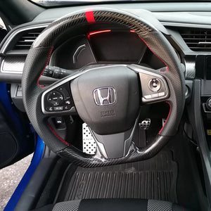 Flat-Bottom Steering Wheel
