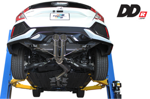 Greddy DD-R Cat-Back Exhaust - Civic Hatchback Exc. Type R
