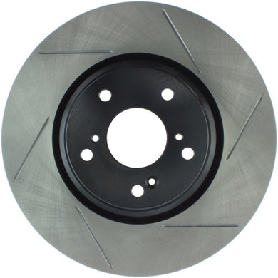 StopTech Slotted Front Rotors - Civic Si