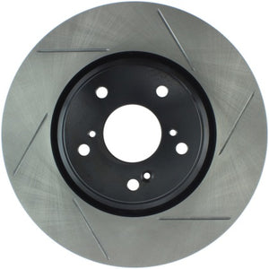 StopTech Slotted Rear Rotors - Si Coupe, Sedan