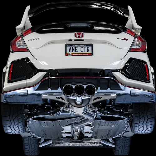 AWE Tuning Exhaust - 2017+ Civic Type R