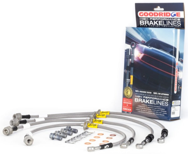 Goodridge SS Brake Lines - Civic Coupe, Sedan (LX/EX/Sport/Touring)