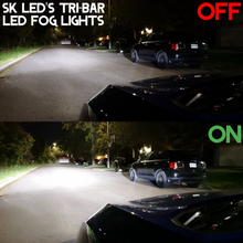 Load image into Gallery viewer, SK LED's Tri-Bar LED Fog Lights