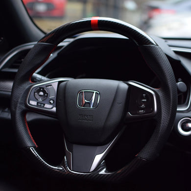 Flat-Bottom Steering Wheel - All Civic