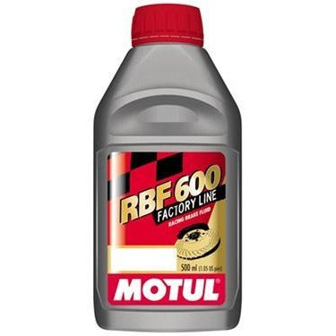Motul RBF 600 DOT4 Brake Fluid - All Civic