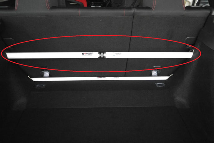 Ultra Racing Adjustable Trunk Upper Brace - Civic Hatch, Type R