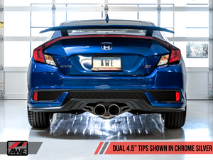 AWE Tuning Exhaust - Civic Si Coupe + Sedan