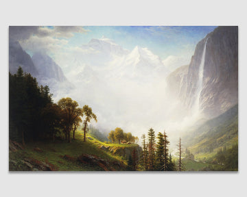 Majesty of the Mountains - Albert Bierstadt