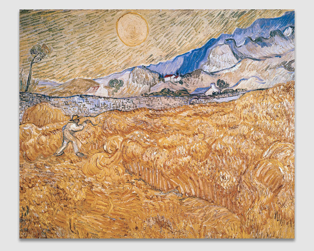 The Harvester - Vincent Van Gogh