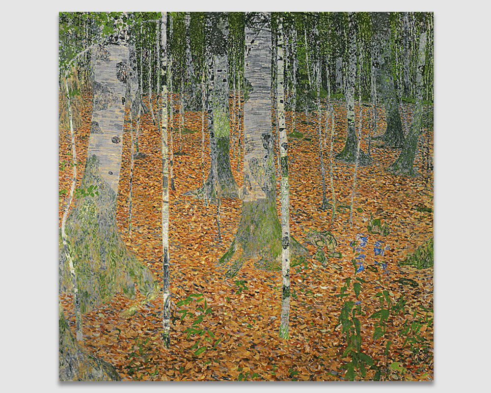 The Birch Wood - Gustav Klimt