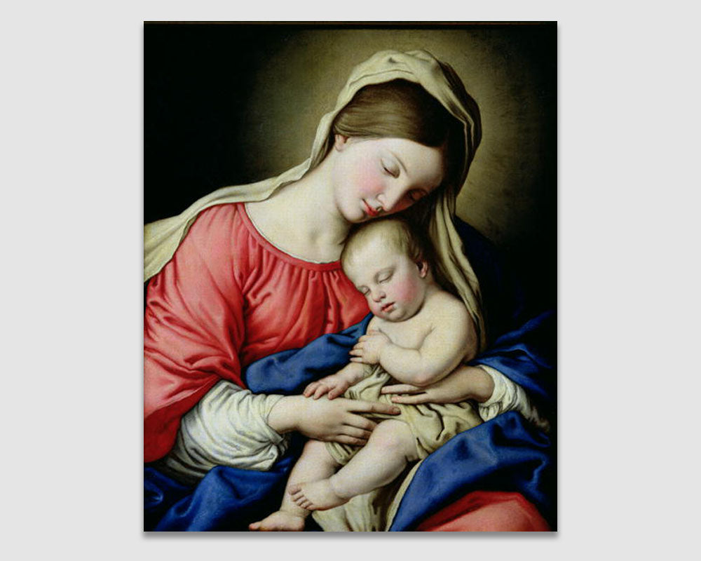 Virgin and Child - Giovanni Battista Salvi da Sassoferrato
