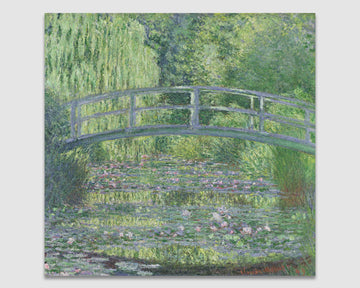 The Waterlily Pond: Green Harmony - Claude Monet