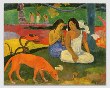 Arearea (The Red Dog) - Paul Gauguin
