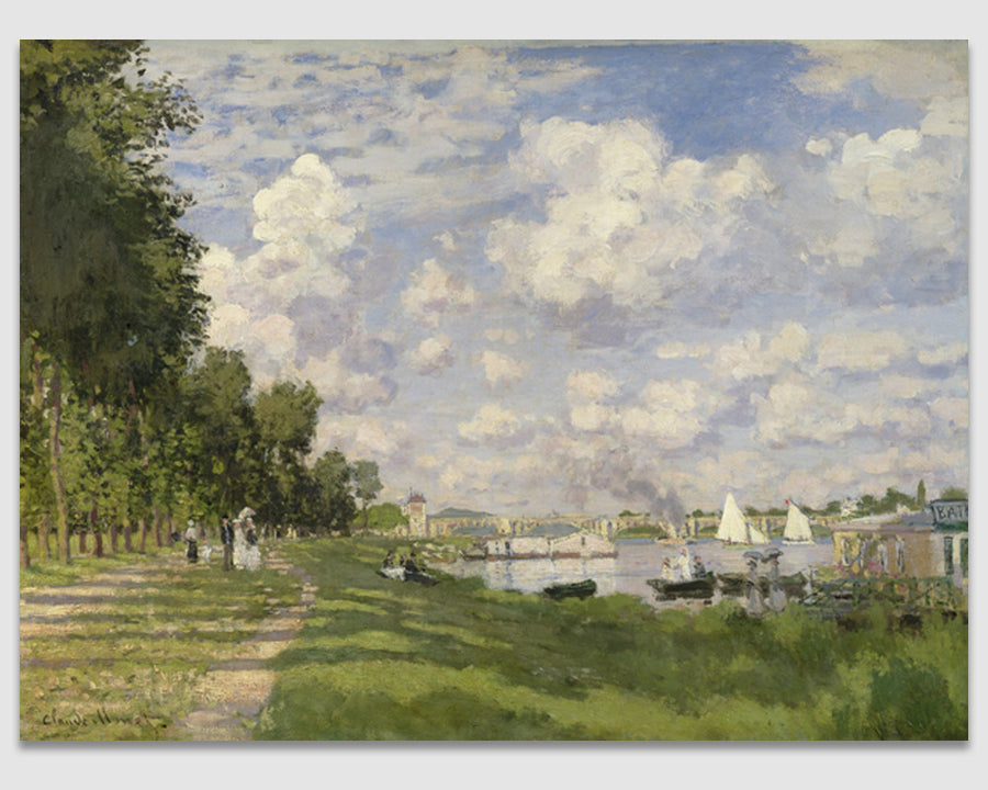 The Marina at Argenteuil, 1872 - Claude Monet