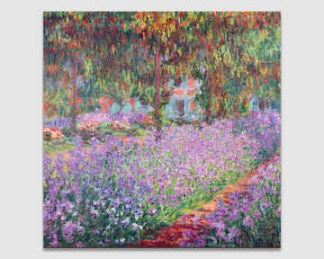 The Artist's Garden at Giverny - Claude Monet