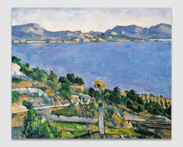 L'Estaque, View of the Bay of Marseilles - Paul Cezanne