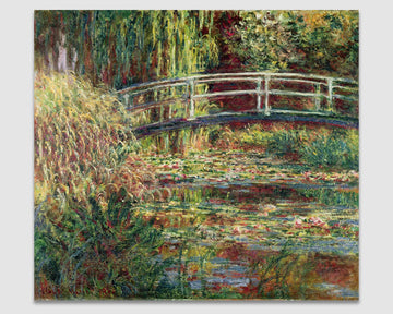 Title Waterlily Pond: Pink Harmony - Claude Monet