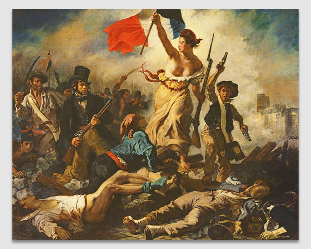 Liberty Leading the People - Eugene Delacroix