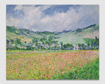 The Poppy Field near Giverny - Claude Monet